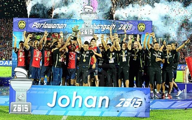 JDT Juara Piala Sumbangsih 2015